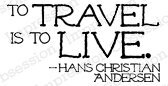 To Travel - Cling Rubber Stamp