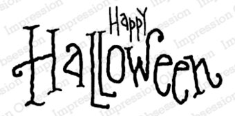 Happy Halloween - Cling Stamp