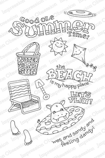 Signs of Summer - Clear Stamp