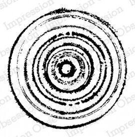 Concentric - Cling Stamp