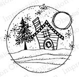 Holiday Home - Cling Rubber Stamp
