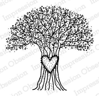 Wish Tree - Cling Rubber Stamp