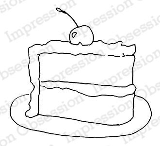 Piece of Cake - Cling Stamp