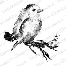 Bird - Cling Rubber Stamp