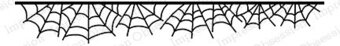 Web Border - Cling Rubber Stamp