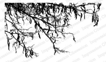 Spooky Branch - Halloween Cling Stamp