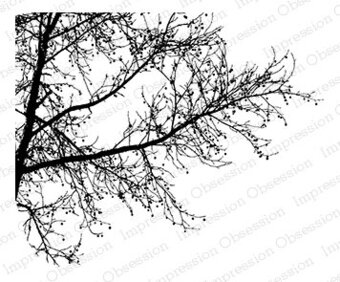 Tree Branch - Cling Rubber Stamp