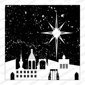 Bethlehem - Christian Cling Stamp
