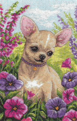 Chihuahua - Cross Stitch Kit