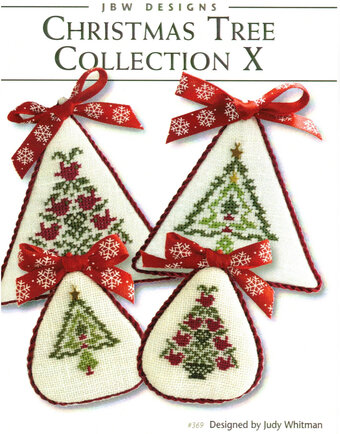 Christmas Tree Collection X - Cross Stitch Pattern