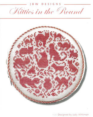 Kitties in the Round - Cross Stitch Pattern