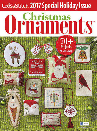 just cross stitch 2017 christmas ornaments magazine