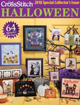 Just Cross Stitch Magazine Halloween 2018