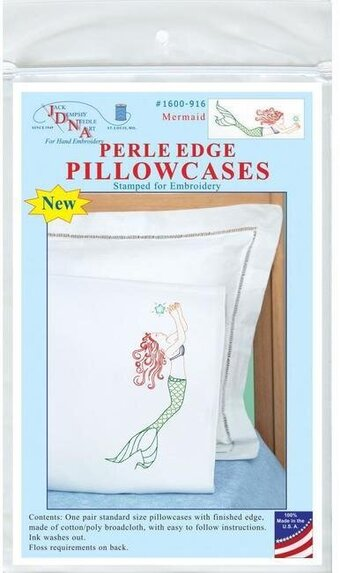 Mermaid Pillowcases - Embroidery Kit