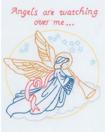 Angel Sampler - Embroidery Kit