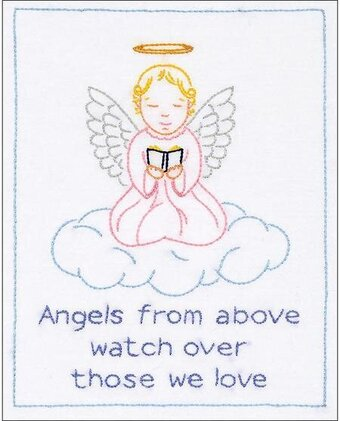 Precious Angel Sampler - Embroidery Kit