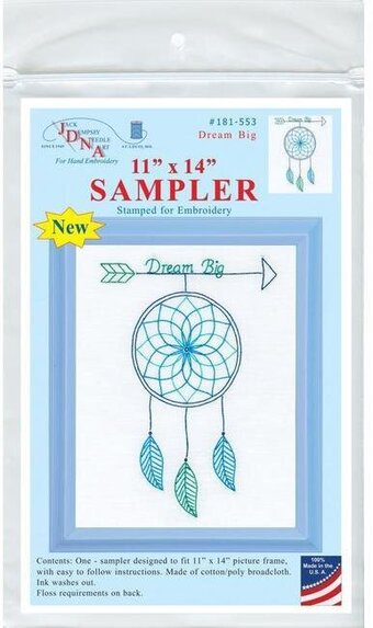 Dream Big Sampler - Embroidery Kit