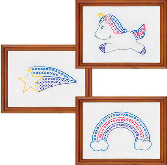 Unicorn Beginner Kit - Embroidery Kit