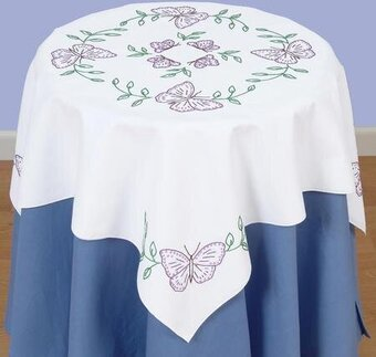 Butterflies Tabletopper - Embroidery Kit