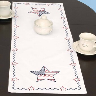 Independence Day Table Runner - Embroidery Kit