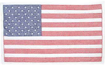 U.S.A. Wall Quilt - Stamped Cross Stitch Kit