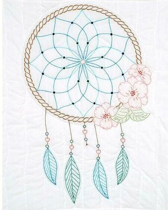 Dream Catcher Wall Quilt - Embroidery Kit