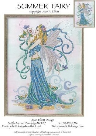 Summer Fairy - Cross Stitch Pattern