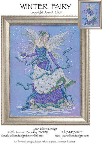 Winter Fairy - Cross Stitch Pattern