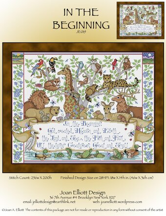 In the Beginning - Cross Stitch Pattern
