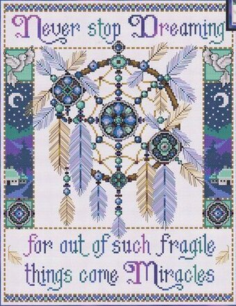 Cree Indian Chief Cross Stitch Pattern Native American ETP