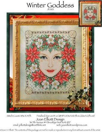 Winter Goddess - Cross Stitch Pattern