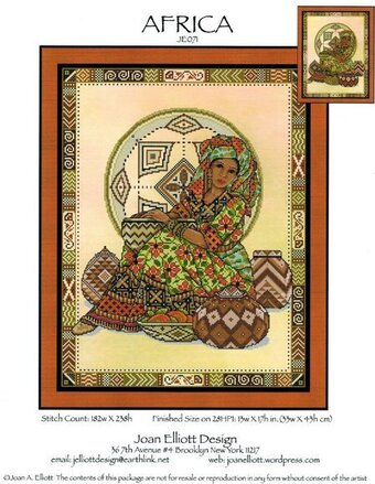 Africa - Cross Stitch Pattern