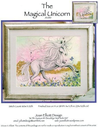 Magical Unicorn - Cross Stitch Pattern