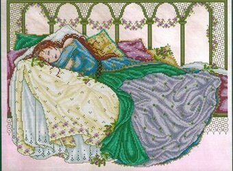 Sleeping Beauty - Cross Stitch Pattern