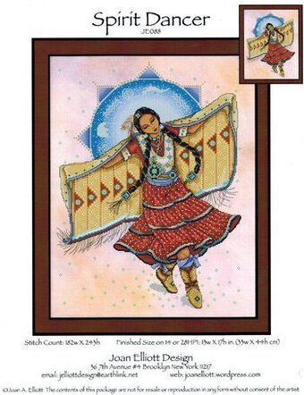 Spirit Dancer - Cross Stitch Pattern