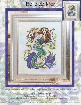 Belle de Mer - Cross Stitch Pattern