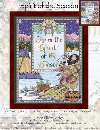 Spirit of the Season - Cross Stitch Pattern