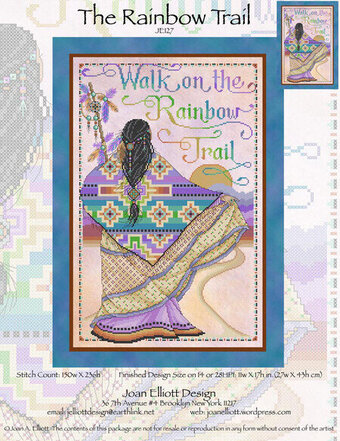 Rainbow Trail  - Cross Stitch Pattern