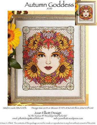 Autumn Goddess - Cross Stitch Pattern