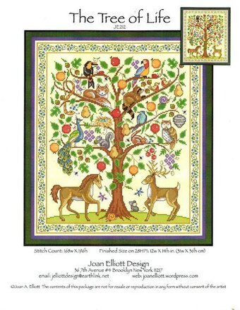 Tree of Life - Cross Stitch Pattern