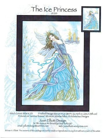 The Ice Princess - Cross Stitch Pattern