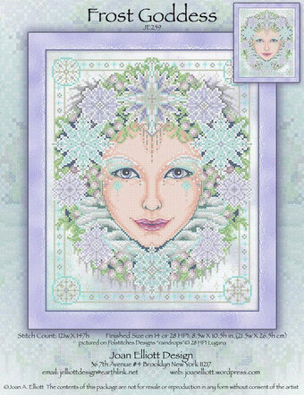 Frost Goddess - Cross Stitch Pattern