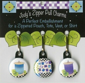 Spools - Zipper Pull Charms