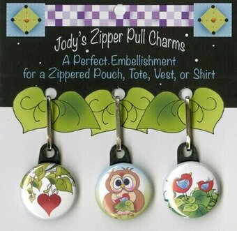Love of Owls - Zipper Pull Charms