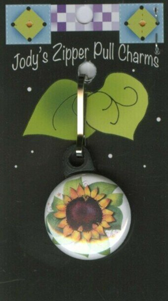 Sunflower - Zipper Pull Charm