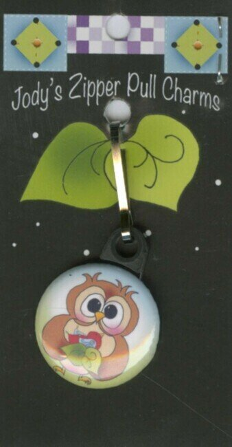 Owl Bird - Zipper Pull Charm