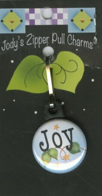Joy - Zipper Pull Charm