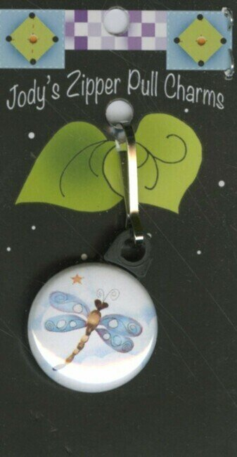 Dragonfly - Zipper Pull Charm