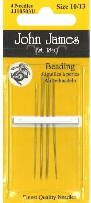 John James Beading Hand Needles Size 10 and 13