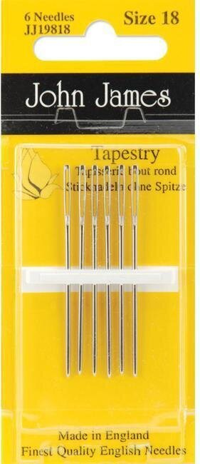 John James Tapestry Needles Size 18